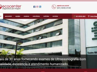 Lançamento do novo site ECOCENTER