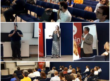 Aula na Associação de Gastroenterologia de Brasília